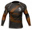 Hayabusa Metaru Rash Guard Brown LS