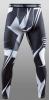 Hayabusa Metaru Compression Pant BLK WHT