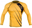 Hayabusa Recast Rash Guard LS Yellow