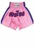 Reevo Muay Thai Shorts pink / blue