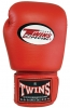 Twins Boxing Glove 16 oz Red